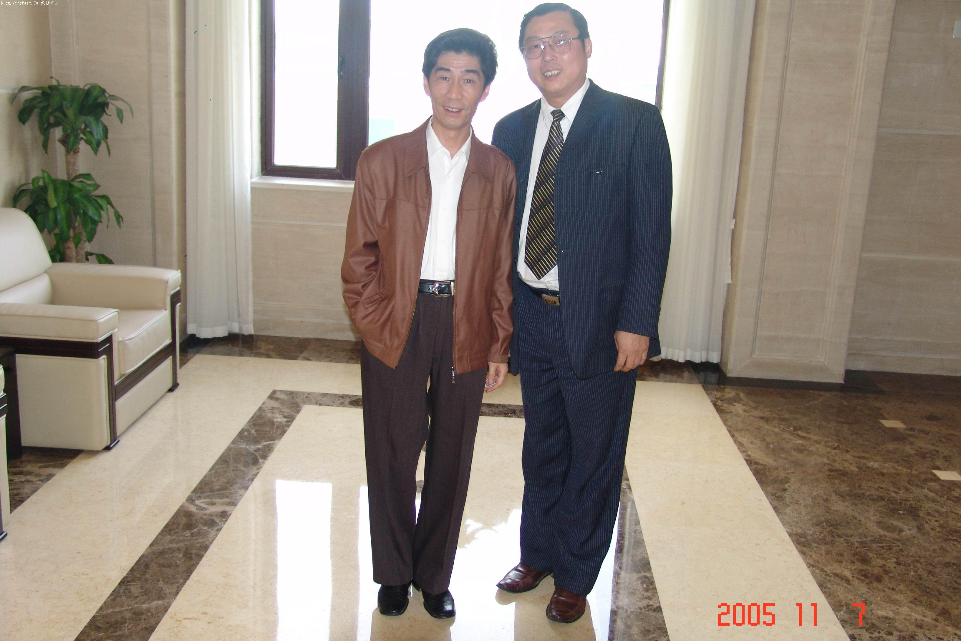 著名滑稽演员阿庆和我