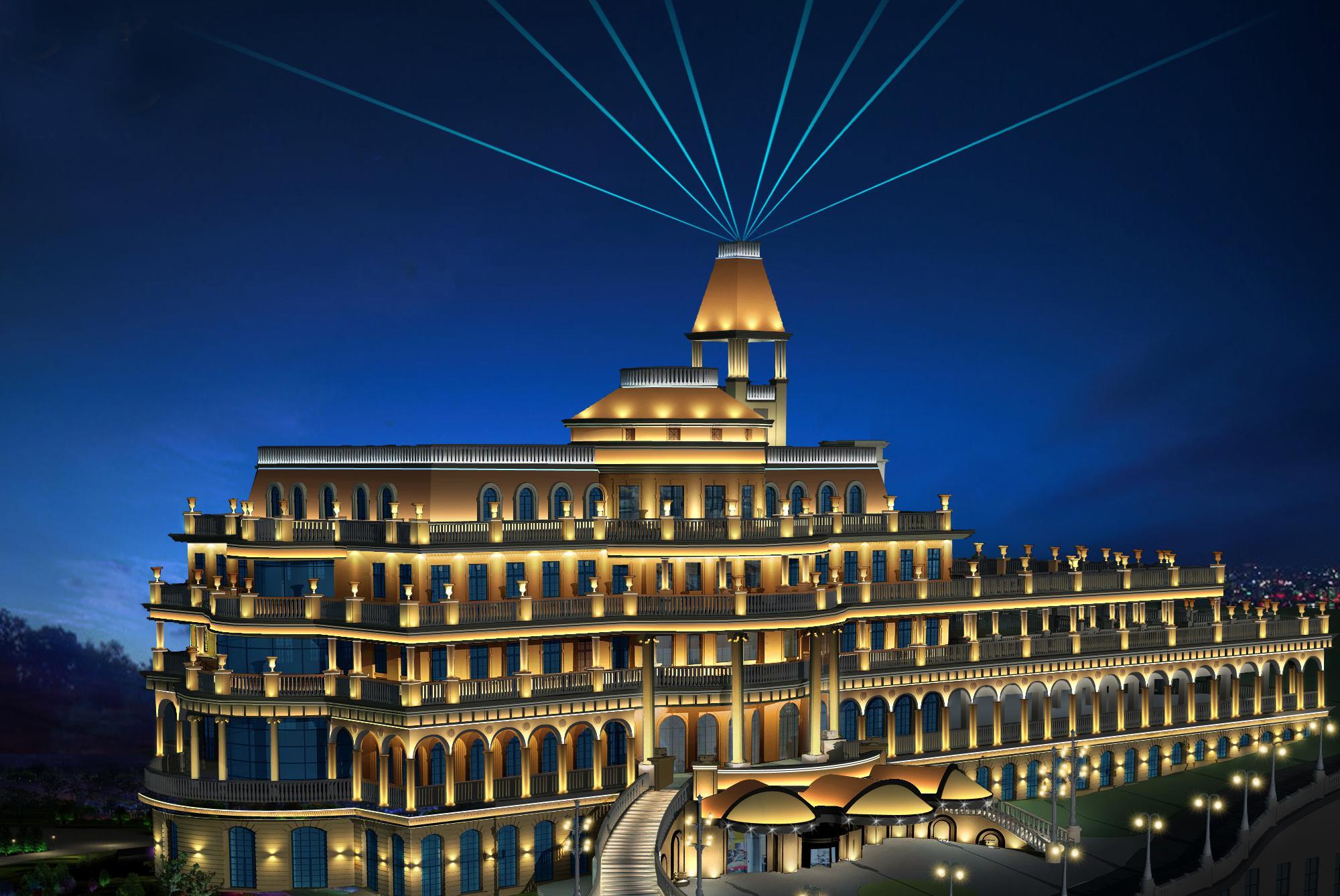 宾馆企业职位结构图