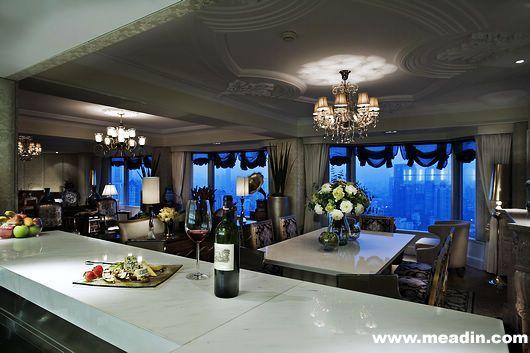 上海希尔顿酒店。