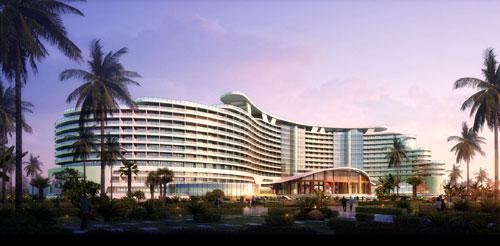 达实与洲际合作案例:海南海棠湾洲际酒店
