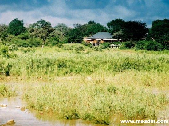 该酒店位于卢旺达火山国家公园内