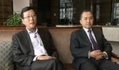 北京丽维赛德酒店总经理张锡俭、餐饮总监郭川
