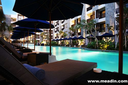巴厘岛水明漾万怡酒店于2014年8月1日正式开业