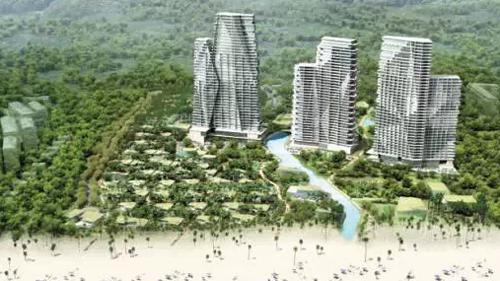 三亚海棠湾华尔道夫酒店(预计2019开业) 希尔顿的头牌华尔道夫酒店将