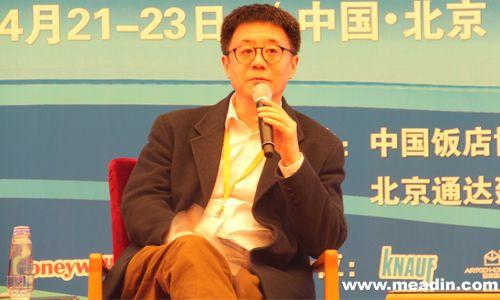 万豪国际酒店集团高级副总裁 林聪图片