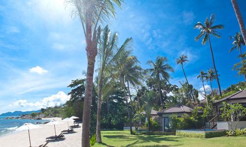 奥瑞格苏梅岛海滩度假酒店共建有52间客房,包括27幢花园泳池套房