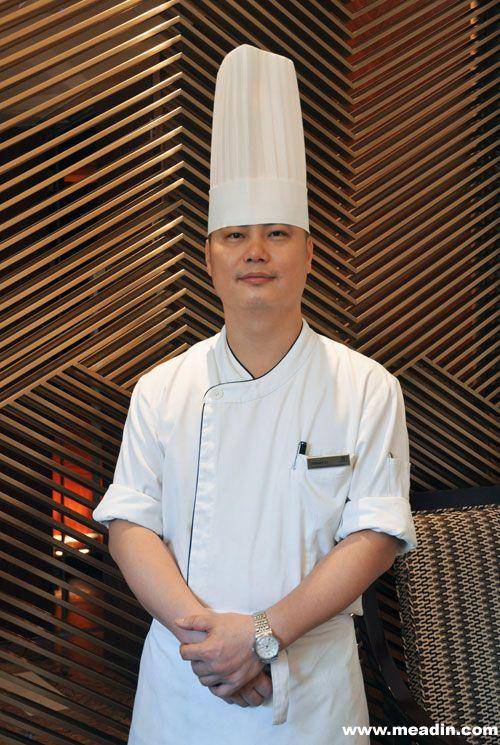 李海雄先生为采悦轩中餐厅行政厨师长