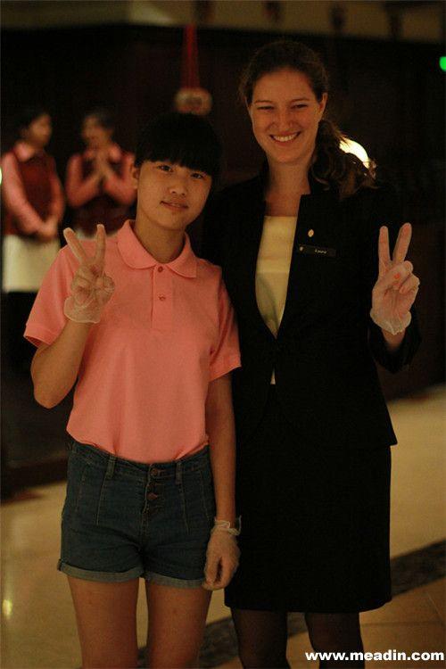 杭州洲际酒店关爱散居孤儿