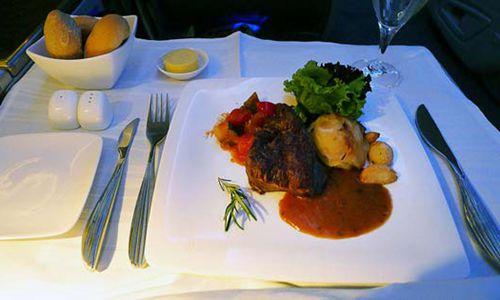 阿提哈德航空公司的奢侈餐厅