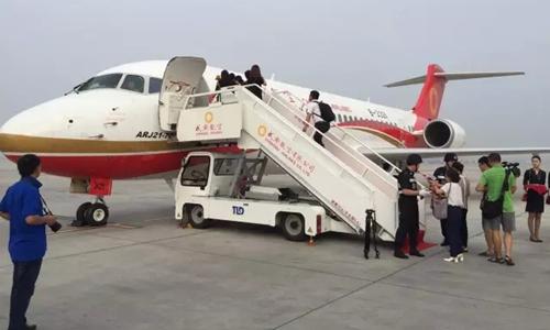 飞机,也将成为全世界航线上第一架由中国生产的喷气