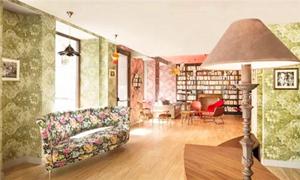 巴黎酒店 享受被花卉和色彩包裹的华丽