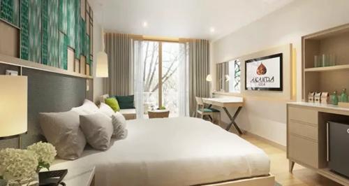 泰国·华欣阿南达水疗度假酒店所设计创意舒适兼具的客房