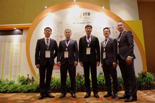 全球旅游业精英云集ITB ASIA 东呈董事长率高管现身