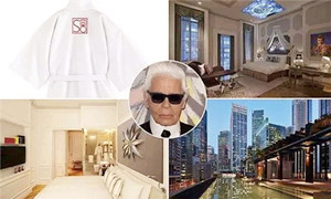 住一晚Karl Lagerfeld酒店才是真时髦