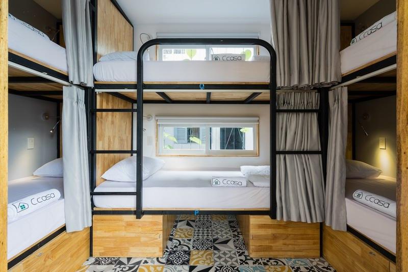 """整个Ccasa酒店就像一个""""大户人家"""",有着各类客房,共享的厨房、起居室、屋顶露台以及活动室等、卫生间等。"""