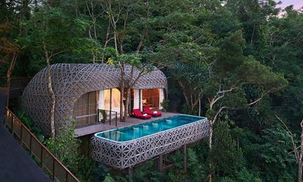 盘点全球最精致的酒店:景致美如幻境