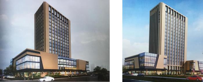 浙江某三线城市市中心在建物业招商 4家中档酒店品牌成首选