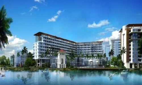 中州国际正式签约三亚强远中州国际大饭店
