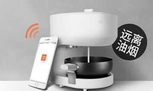 让机器人来帮客人炒菜 饭来希望厨房智能化