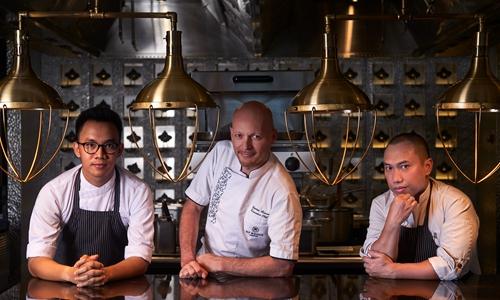 兰卡威瑞吉酒店明星厨师团队全新亮相