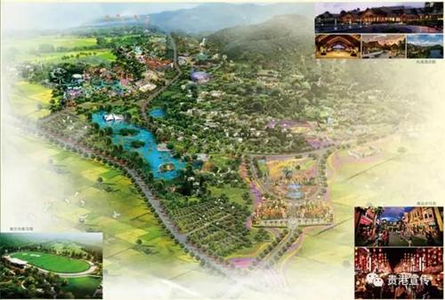 投资158亿 桂平万隆国际旅游区拉动广西旅游