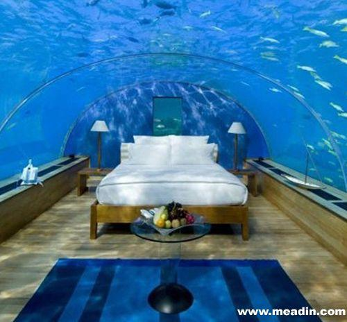 全球主题酒店推荐:3大海底酒店