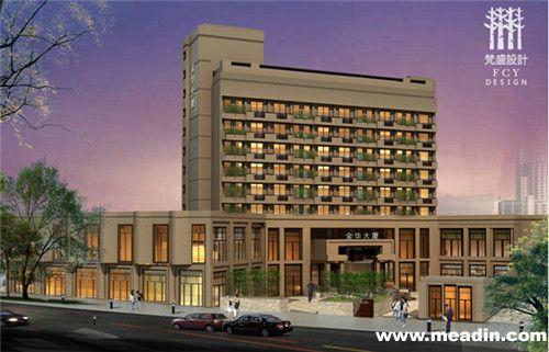 酒店的直线行组织结构图